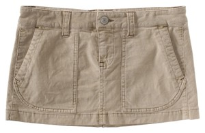 Aéropostale Mini Skirt Tan