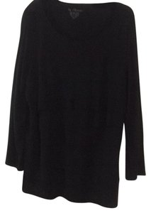 Chico's Top Black ruffles make this an easy date night top to wear for all occasions.