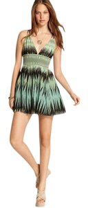Free People short dress Green Summer on Tradesy