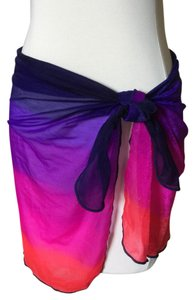 Jantzen MULTI COLORED SHEER SARONG / PAREO