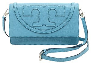 Tory Burch Junioer Berry Blue Messenger Bag