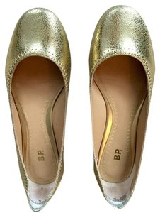 BP. Clothing Gold Flats