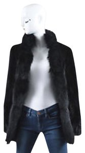 Saga Furs Fox Fur Diamond Fox Coat