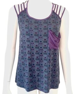 Hurley Top Purple/blue