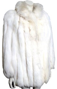 Saga Furs Fox Fur Fox Artctic Fur Coat