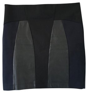 Zara Mini Skirt Black/Navy