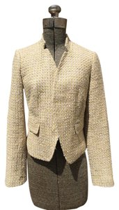 Calvin Klein Tweed Metallic Thread Jacket