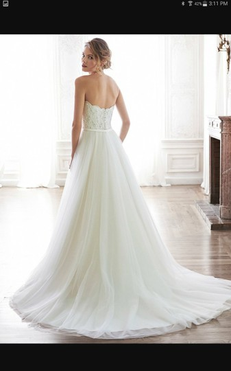 Maggie Sottero Ivory Tull Enza Traditional Wedding Dress Size 16 (XL, Plus 0x) Image 1