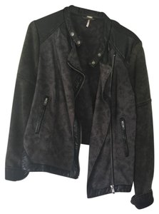 Free People Motorcycle Jacket