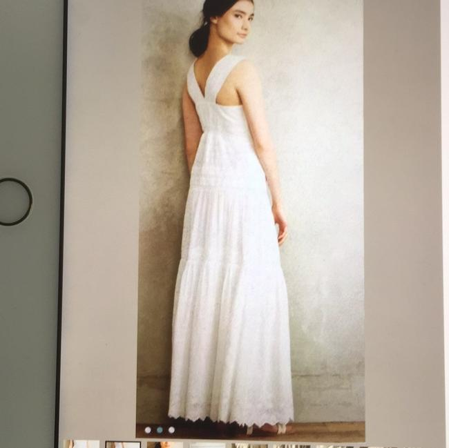 white Maxi Dress by Anthropologie Image 1