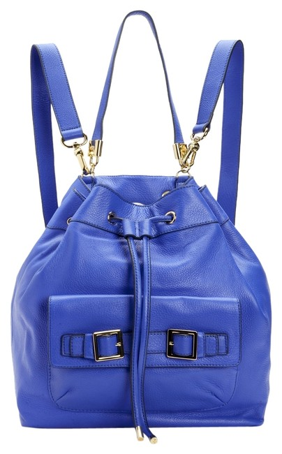 Item - Robertson Bright Royal Blue Luxe Leather Backpack