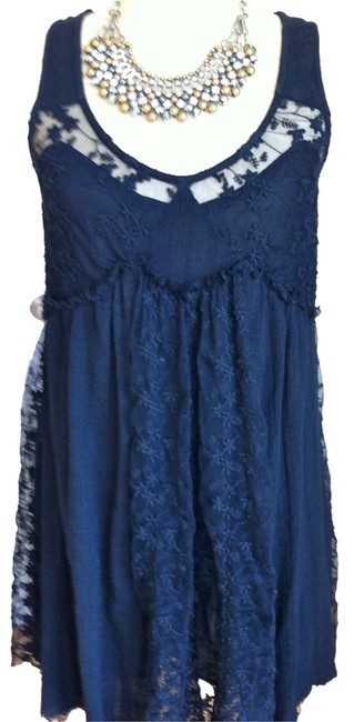 Free People Holiday Lace Cut-out Dress