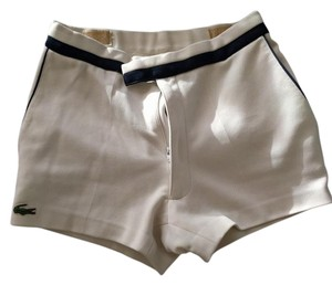 Lacoste Vintage Summer Mini/Short Shorts white