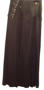 Jean-Paul Gaultier Maxi Skirt Black