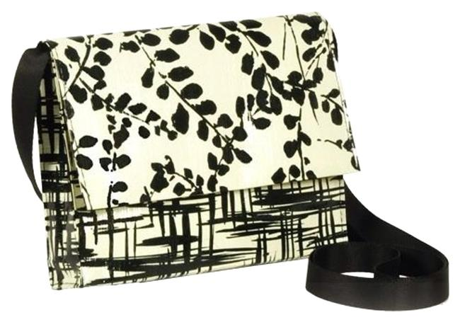 Item - Branch Out Black & White 95% Recycled Post Consumer Materials Cross Body Bag