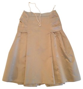 Prada Skirt Soft Gold