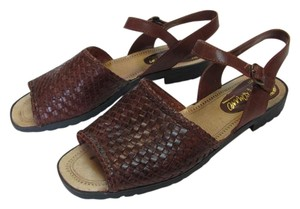 Romano Leather Size 10.00 M Brown Sandals