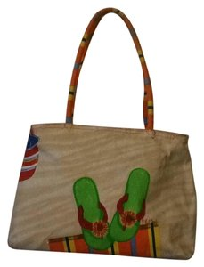 Sun N Sand Tan Beach Bag
