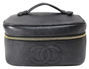 Chanel Chanel Caviar Leather Vanity Cosmetic Case