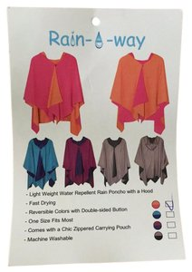 Rain-A-Way Pet Smoke Free Hooded Cape