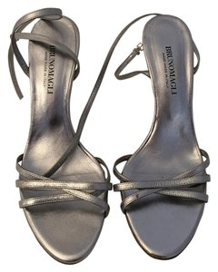 Bruno Magli Silver Sandals