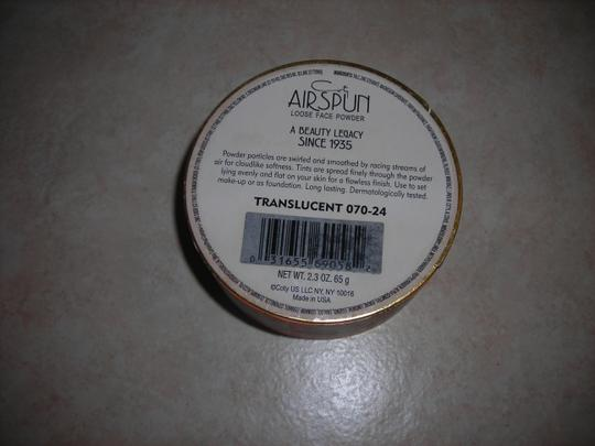 Coty -Airspun VTG New Coty Airspun Powder Transculent 070-24 discontinued