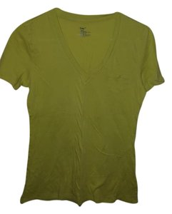 Gap V-neck T Shirt Lime Green