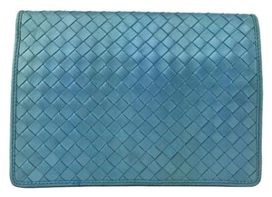 Bottega Veneta Light Blue Clutch