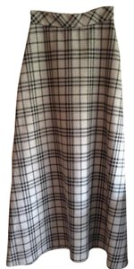 Vicky Sport Vintage Skirt silver and black plaid