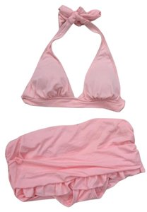 Juicy Couture JUICY COUTURE BEACH ROYALTY PINK BIKINI SWIM SUIT