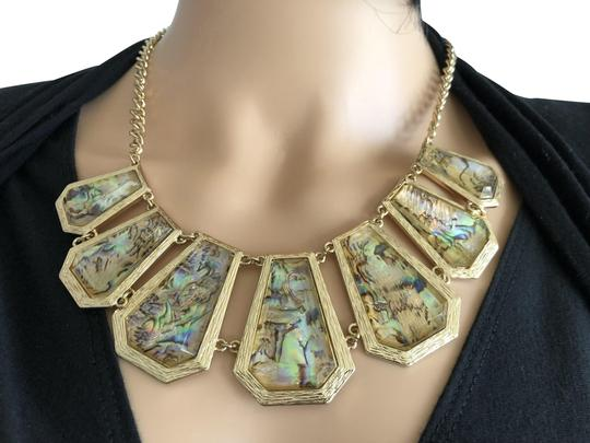 Preload https://img-static.tradesy.com/item/15236719/lydell-nyc-gold-iridescent-necklace-0-5-540-540.jpg