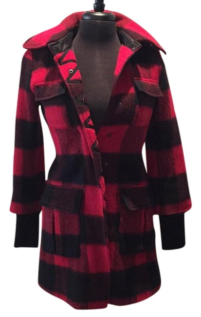 Item - Red and Black Coat Size 4 (S)