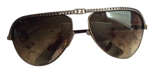 Fendi Brown aviator sunglasses