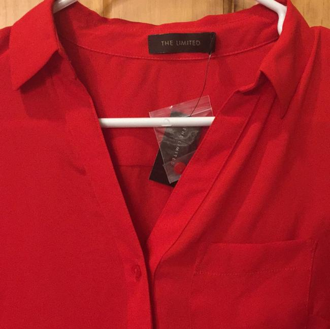 The Limited Button Down Shirt Red Image 2