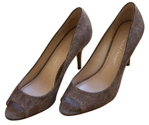 Jean-Michel Cazabat Taupe Grey Pumps