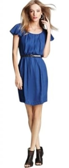 Preload https://img-static.tradesy.com/item/152376/bcbgeneration-blue-azure-pleated-above-knee-workoffice-dress-size-6-s-0-0-650-650.jpg