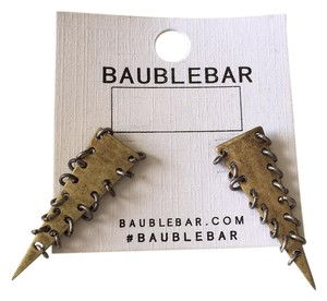 BaubleBar baublebar spike triangle earrings