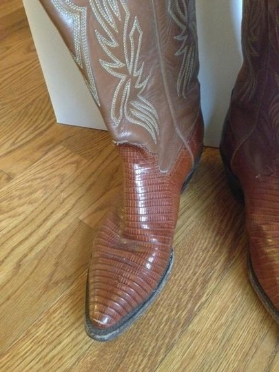 Billy Martins Vintage Cowboy Tobacco Boots