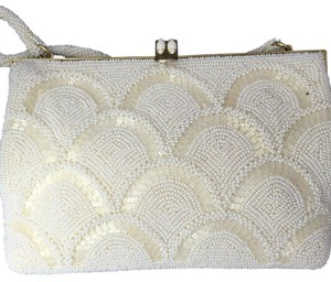 Pearl Bridal Collection Wristlet in Ivory White