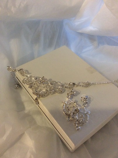 David's Bridal Swarovski Crystal Jewelry Set