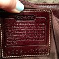 Coach Satchel in Houndstooth Brown Image 10