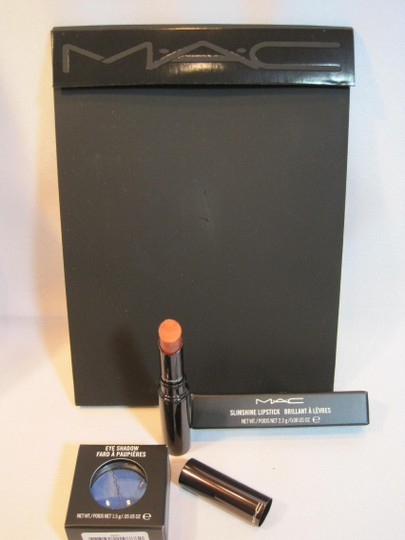"MAC Cosmetics MAC Eye Shadow in ""Submarine"" & SlimShine Lipstick in ""Assertive"""