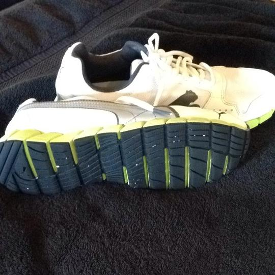 Puma White. Neon Green. Black Athletic