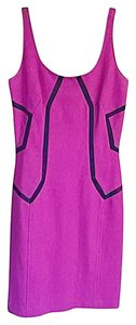 Diane von Furstenberg short dress Pink Hot Dvf Sheath on Tradesy