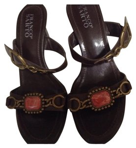 Franco Sarto Brown. Sandals