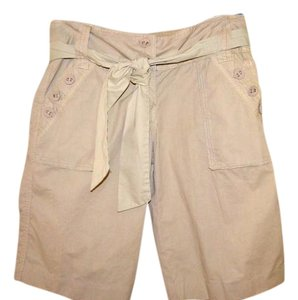 Anthropologie Shorts Tan