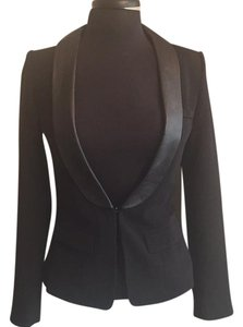 Line & Dot Black Blazer