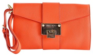 Jimmy Choo Wristlet in Orange
