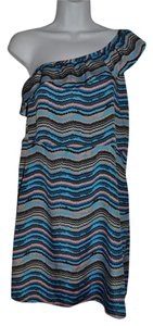 Bar III short dress One Wavy Striped Resort on Tradesy