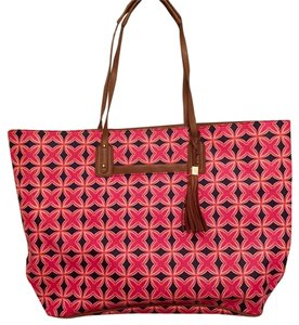 Stella & Dot Tote in Navy/Red